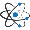 Atom Science Physics Icon