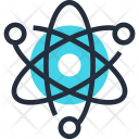 Atom Experiment Nuclear Icon