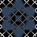 Atom Electron Molecule Icon