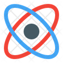 Atomic Science Electron Icon