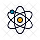 Atom Molecule Science Icon