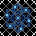 Atom Atomic Education Icon