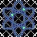 Network Atom Education Icon