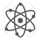 Atom Structure Nuclear Icon
