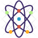 Atom Science Molecule Icon