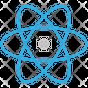 Atom Atomic Nucleus Electrons Icon