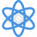 Sciencem Atom Physics Icon