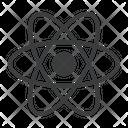 Javascript Library Atom Icon