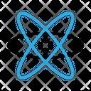 Atom Laboratory Research Icon
