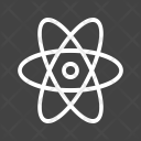 Atom Mole Science Icon