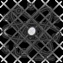 Orbit Science Symbol Atom Icon