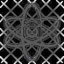 Atom Science Symbol Atomic Model Icon