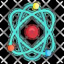 Atom Electron Science Icon