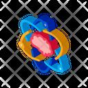 Atom Brain Human Icon