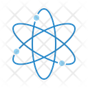 Atom Particle Science Icon