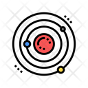 Atom Core Color Icon