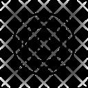 Atom Core Laboratory Icon