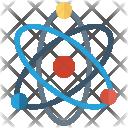 Atom Physics Quantum Icon