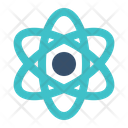 Atom Physics Education Icon