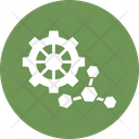 Atom Microbiology Molecule Structure Icon