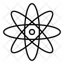 Atom Chemistry Science Icon