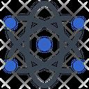 Atom Laboratory Science Icon