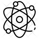 Atom Orbit Nucleus Icon