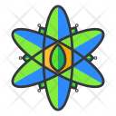 Atom Science Ecology Icon