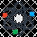 Atom Electron Proton Icon