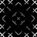 Atom Molecule Science Icon