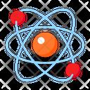 Atom Physics Science Molecule Icon