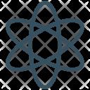 Atom Sign Biology Icon