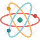 Atoms Chemistry Medical Icon