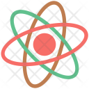 Atom Science Electrons Icon