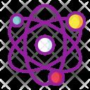 Atom Chemistry Energy Icon