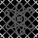 Atom Science Physics Icon