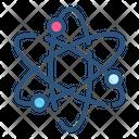 Atom Chemistry Medicine Icon