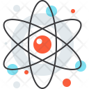 Atom Physics Biology Icon
