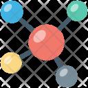 Atom Bond Electron Icon