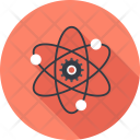 Atom Structure Biology Icon