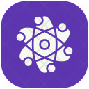Atom Circle Technology Icon