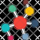 Atom Connection Connectivity Atom Icon