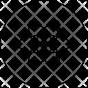 Atom Electomagnatic Wave Icon