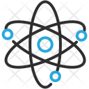 Atom Electrons Icon