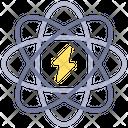 Atom Energy Environment Nature Icon