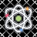 Atom Molecule Atom Molecule Icon