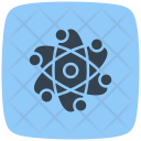 Atom Research Atom Microscope Atom Icon