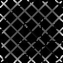 Atom Science Ionized Icon