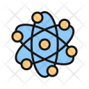 Atom Science Space Icon