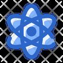 Atomic Atom Science Icon